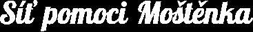 Logo Síť pomoci Moštěnka