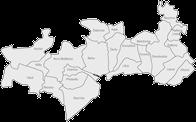Mapa mikroregionu Moštěnka